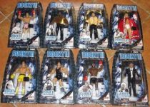 Jakks Pacific - ROCKY III - Set of 8 figures (mint on card)