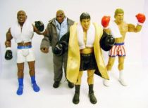 Jakks Pacific - ROCKY V & VI - Set of 4 figures (Loose)