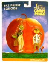 James & Giant Peach - Grasshopper & Centriped - PVC figures