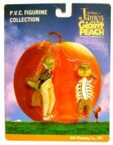 James & Giant Peach - Grasshopper & Centriped - PVC figures