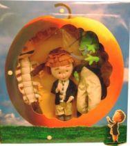 James & Giant Peach - James, Grasshopper & Centriped - 18\'\' Plush Collector
