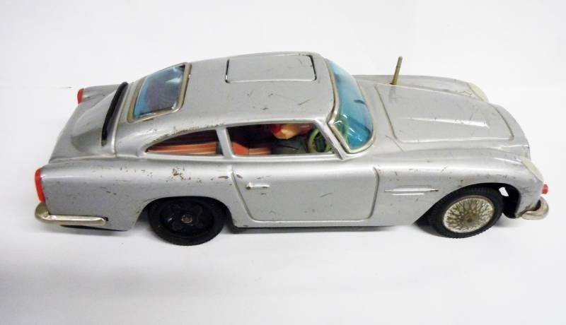 james bond asc japon 1965 goldfinger aston martin db5 20cm jouet t le ebay. Black Bedroom Furniture Sets. Home Design Ideas