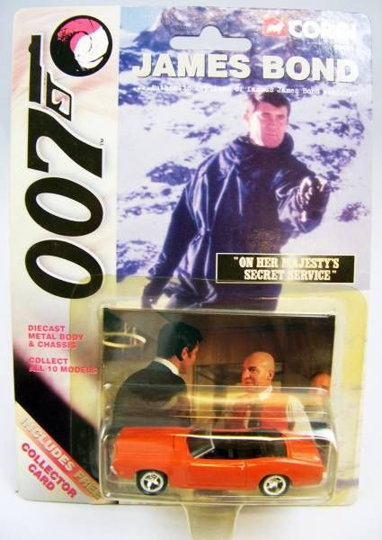 James Bond - Corgi (American Series) - Complete set of 10 vehicles on card
