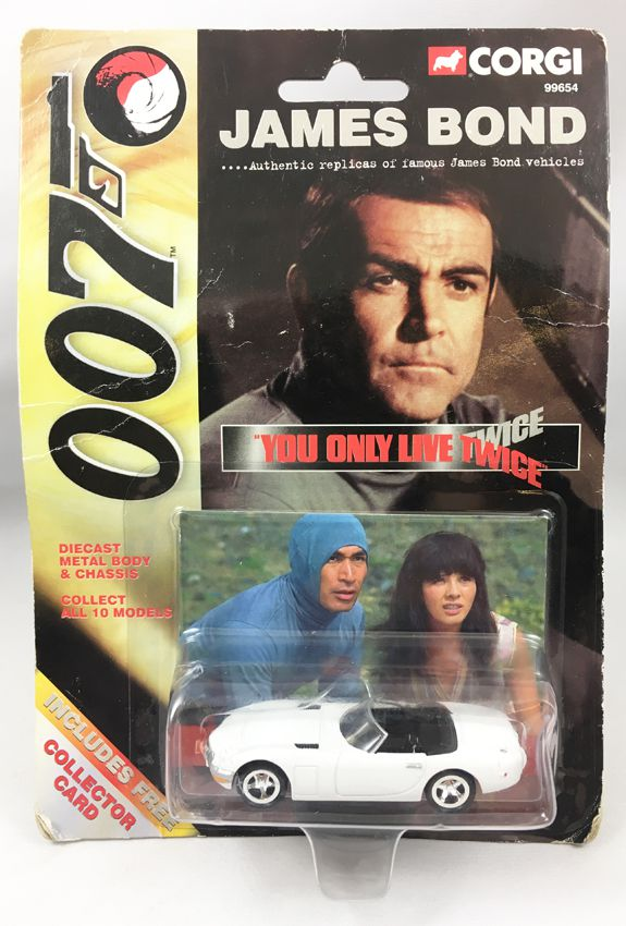 James Bond - Corgi (American Series) - You only live twice - Toyota 2000 GT (Ref.99654)