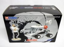James Bond - Corgi Classics Series - Les diamants sont éternels - Moon Bugy & James Bond figure set (ref.65101)