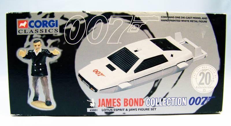 James Bond - Corgi Classics Series - The Spy Who Loved Me - Lotus Esprit & Jaws figure set (ref.65001)