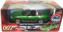 James Bond - ERTL Joyride - Goldfinger - Die another day - Jaguar XKR Roadster  Scale 1/18ème Ertl Scale 1:18° (mint in box)
