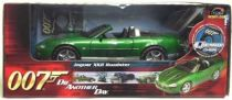 James Bond - ERTL Joyride - Goldfinger - Die another day - Jaguar XKR Roadster  Scale 1/18ème Ertl Scale 1:18° (mint in box)