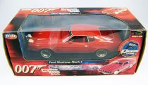 James Bond - ERTL Joyride - Les diamants sont éternels - Ford Mustang Mach 1 Echelle 1/18ème (neuve en boite)