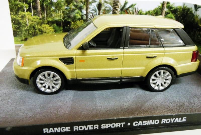 James Bond - GE Fabbri - Casino Royale - Range Rover Sport (Mint in box)