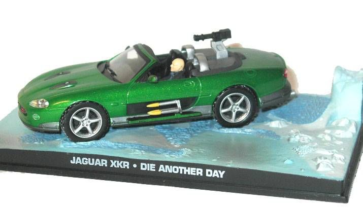 James Bond - GE Fabbri - Die Another Day - Jaguar XKR (Mint in box)