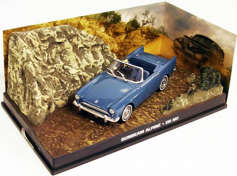 James Bond - GE Fabbri - Dr No - Sunbeam alpine (Mint in box)