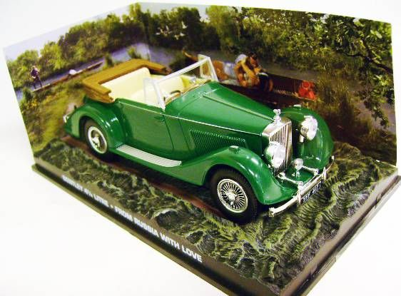 James Bond - GE Fabbri - From Russia with Love - GE Fabbri - Bons Baisers de Russie - Bentley 4 1/4 Litre (Mint in box)