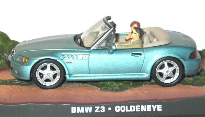 James Bond - GE Fabbri - Goldeneye - BMW Z3 F355GTS (Mint in box)