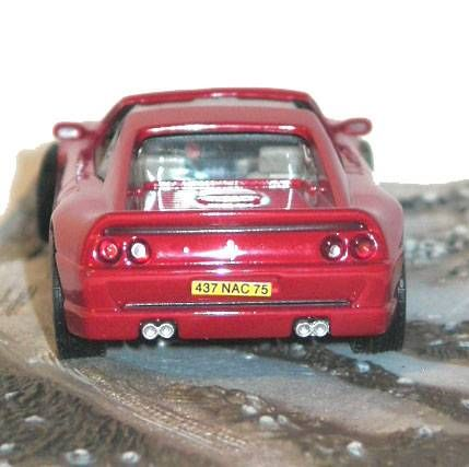 James Bond - GE Fabbri - GoldenEye - Ferrari F355GTS (Mint in box)
