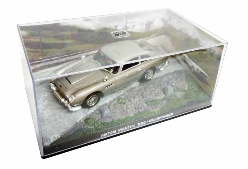 James Bond - GE Fabbri - Goldfinger - Aston Martin DB5 (Mint in box)