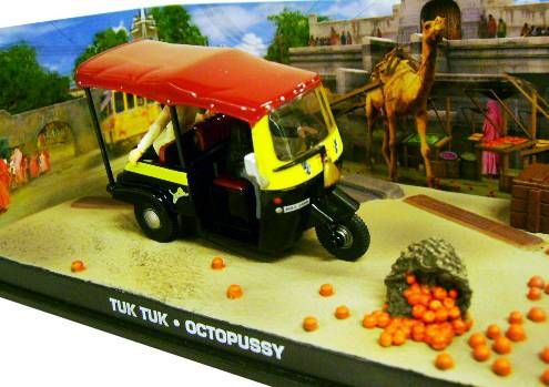 James Bond - GE Fabbri - Octopussy - Tuk Tuk (Mint in box)