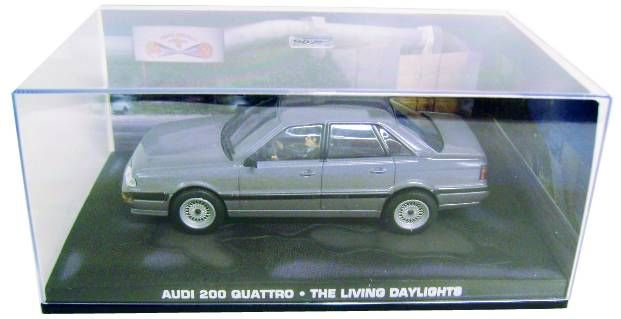 James Bond - GE Fabbri - The Living Daylights - Audi 200 Quattro (Mint in box)