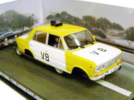 James Bond - GE Fabbri - The Living Daylights - Lada 1500 (Mint in box)