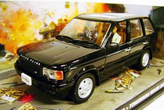 James Bond - GE Fabbri - Tomorrow Never Dies - Range Rover (Mint in box)