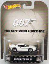 James Bond 007 - Hot Wheels - L\'espion qui m\'aimait - Lotus Esprit S1