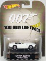 James Bond - Hot Wheels - On ne vit que deux fois - Toyota 2000GT Roadster