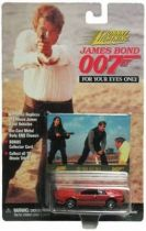 James Bond - Johnny Lightning - For your eyes only - Lotus Turbo (mint on card)