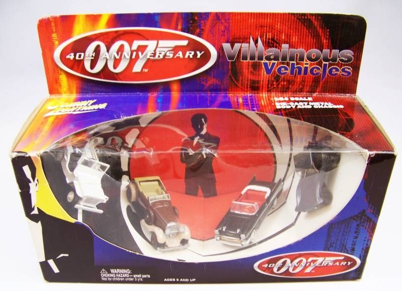 James Bond - Johnny Lightning - Villainous Vehicles