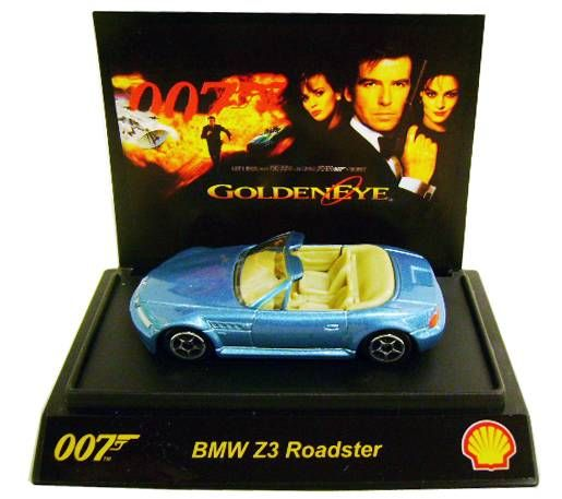 James Bond - Tic Toc (Shell) - GoldenEye - BMW Z3 Roaster (Scale 1:64°)