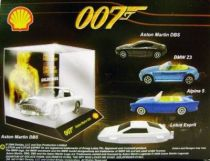 James Bond - Tic Toc (Shell) - Goldfinger - Aston Martin DB5 (Scale 1:64°)