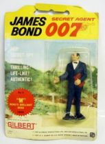 James Bond (Vintage) - Gilbert Figures - M (mint on card)