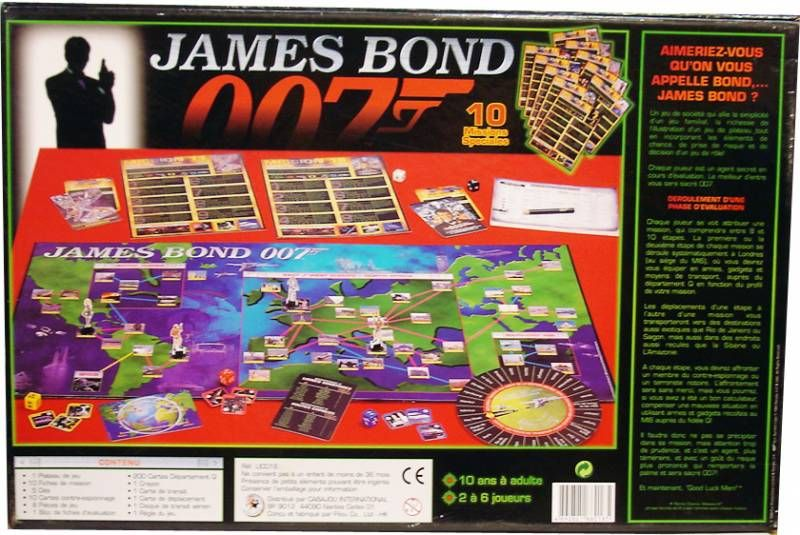 James Bond 007 Special Missions - Board Game - Cabajou