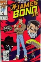 James Bond Junior - Comic Book - Marvel Comics - James Bond Jr. #1