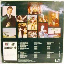James Bond Live and Let Die (Original Soundtrack) - Record LP - United Artists Records 1973