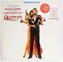 James Bond Octopussy  (Original Soundtrack) - Record LP - A&M Records 1973