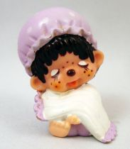 Japanese pvc figure Monchichi in night gown