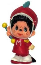 Japanese pvc figure Monchichi parade leader