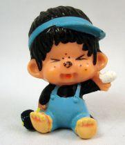 Japanese pvc figure Monchichi with band aid