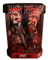 Jason  Voorhees (Friday the 13th) & Freddy Krueger (a Nightmare on Elm Street) - Movie Maniacs (Special Edition Collector Club)