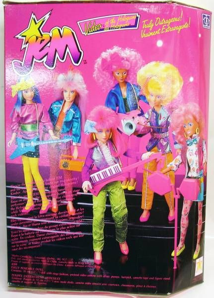 Jem - Holograms Video (mint in box)