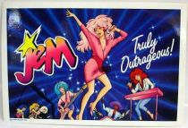 Jem - Large size \'\'Truly Outrageous\'\' Sticker