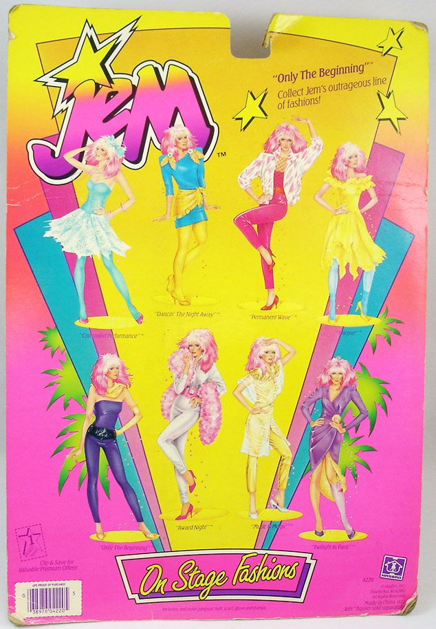 Jem - On Stage Fashions - Only The Beginning