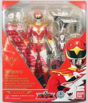 Jetman - Bandai S.H.Figuarts - Red Hawk (Faucon Rouge)