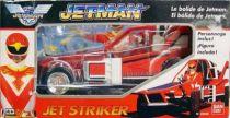 Jetman - Vehicle & Acion Figure Bandai - Jet Striker with Red Falcon