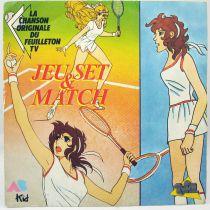 Jeu Set & Match - Disque 45Tours - Bande Originale du feuilleton Tv - AB Kids 1989