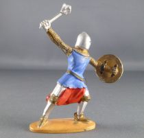 Jim - Middle Age - Footed 1st series Brandishing Mace Rond Shield