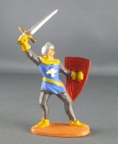 Jim - Middle Age - Footed 1st series Crusader with sword & shield