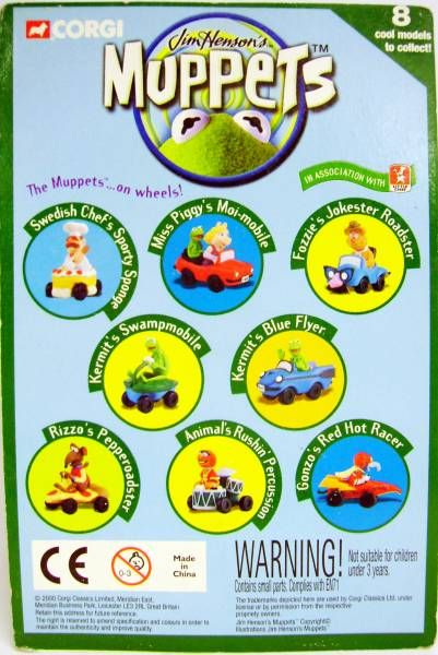 Jim Henson\'s Muppets - Corgi 2000 - Fozzie