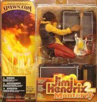 Jimi Hendrix at Monterey 1967 - McFarlane figure
