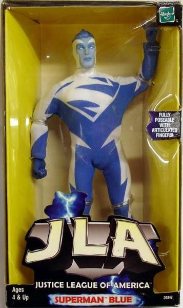 JLA - Superman Blue 10 inches figure